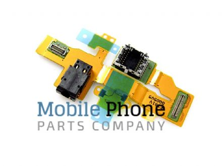 Genuine Microsoft Lumia 550 Headphone Jack Flex - Part No: 0269J43